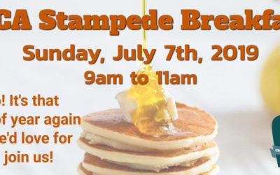 Stampede Breakfast 2019