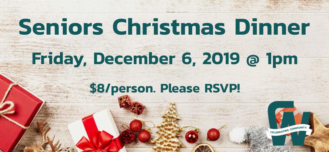 Seniors Christmas Dinner 2019