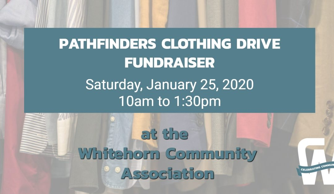 Pathfinders Clothing Drive Fundraiser