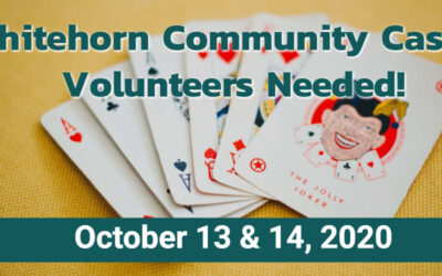 Casino Volunteers Needed Oct 13 & 14