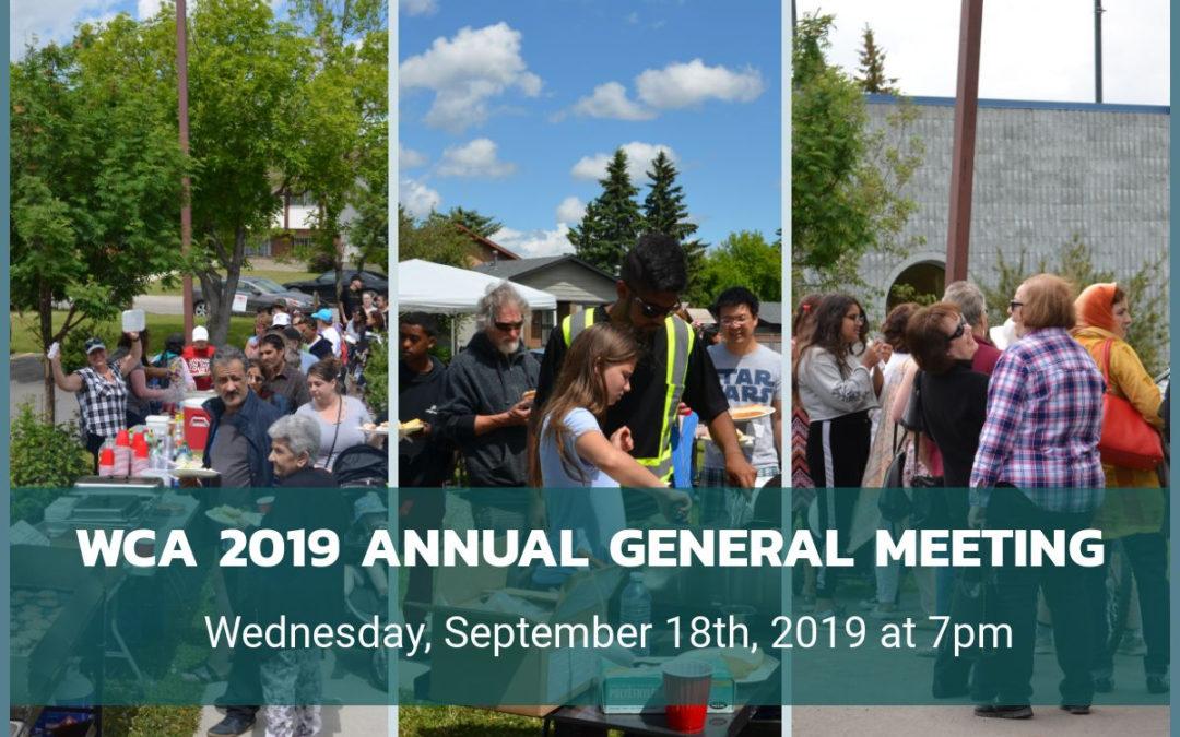 Annual General Meeting September 18, 2019