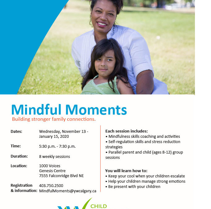 Mindful Moments at the Genesis Centre (Free)