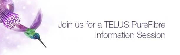 Telus PureFibre Virtual Info Session