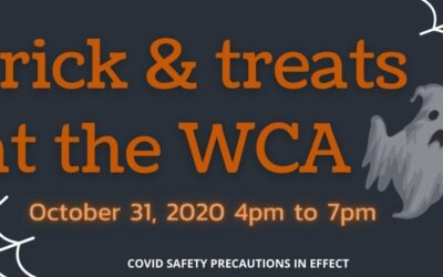 Trick-or-treats at the WCA
