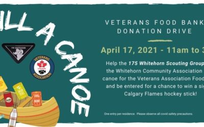 175 Whitehorn Scouts – Veterans Association Food Bank Drive